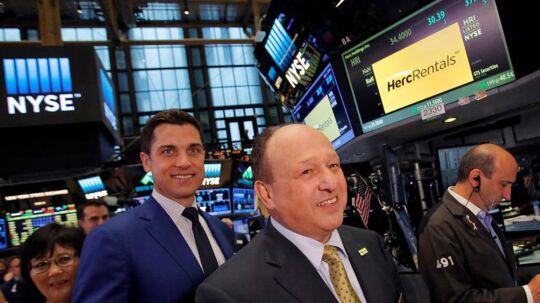Der er mindre rentestigninger på obligationsmarkedet mandag morgen, hvor der ellers er lagt op til en rolig start på ugen som følge af den amerikanske nationaldag. (Foto: Reuters, Andrew Kelly)