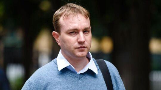 Tom Hayes, ankommer til Southward Crown retssal i London d. 27. juli 2015.