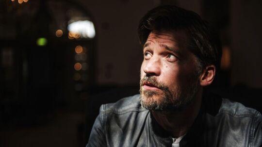 Skuespiller Nikolaj Coster Waldau som blandt andet er med i Game of Thrones.