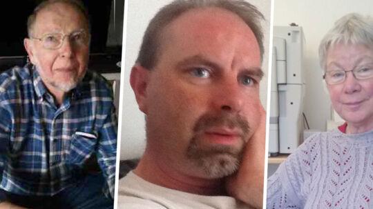 Lars Kragh erkender at have slået forældrene, Jørgen Kragh (t.v.) og Kirsten Kragh (t.h.), ihjel med talrige slag fra en økse. Han siger dog, at han var psykotisk på gerningstidspunktet, og at han handlede i nødværge, fordi han følte, at forældrene blandede sig for meget i hans liv.