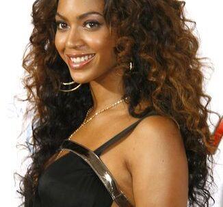 Beyoncé Knowles lander på en 9. plads hos de engelske mænd.