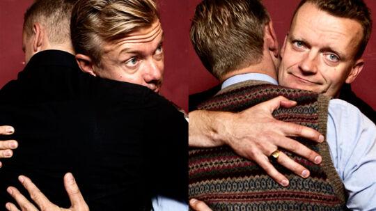 6. oktober er der premiere på Frank Hvam og Casper Christensens stand-up-show, 'Nu som mennesker'.