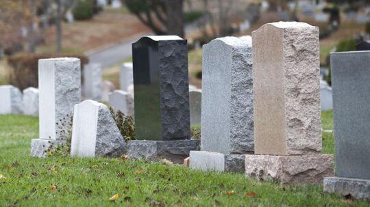 Arkivfoto: Stacey Lamb skrev Daniel på gravstenen for sin dødsfødte sten. Nu viser det sig, at det slet ikke var en dreng