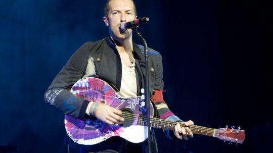 Coldplay er et af de bands, der har klaget over blandt andet YouTube til EU-Kommissionen. Arkivfoto Free/Colourpress.com