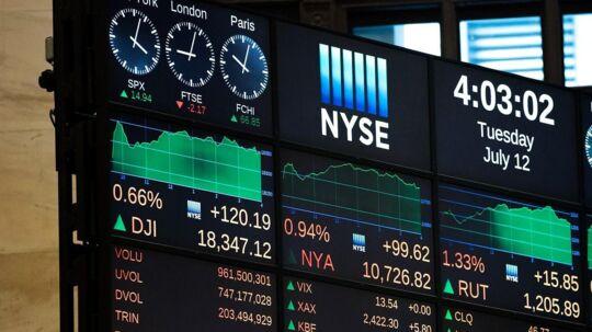 Mænd sidder tungt på det danske aktiemarked med en samlet beholdning på 217 milliarder kroner, mens kvinder kun har aktier for 102 milliarder kroner