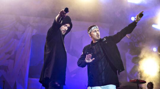 Smukfest 2016: Nik & Jay på Bøgescenen torsdag den 4. august 2016.