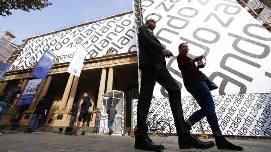 Zalando forventer, at driftsresultatet er landet på op mod 108 mio. euro - eller omkring 800 mio. kr.