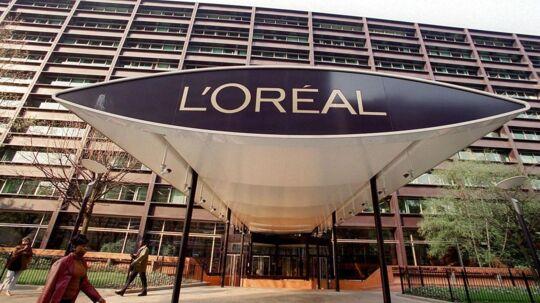 L'oreals administrerende direktør, Jean-Paul Agon, forventer, at helårsomsætningen vil vokse hurtigere, end den har gjort i første kvartal.
