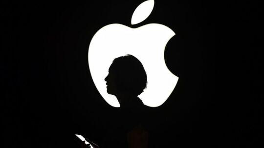 Apple er i EUs søgelys og risikerer en stor milliardbøde for skatteunddragelse. Arkivfoto: Josh edelson, AFP/Scanpix