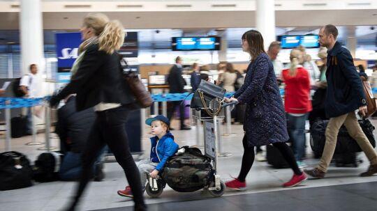 Københavns lufthavn. Arkivfoto.