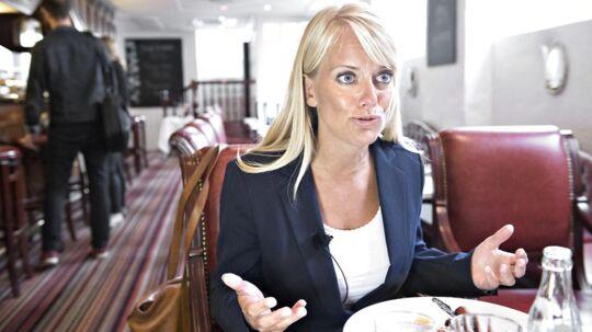 Pernille Vermund, formand for partiet Nye Borgerlige