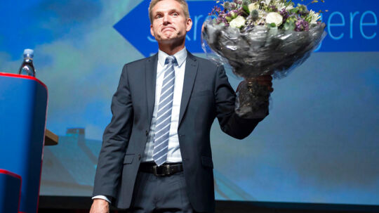 Formand Kristian Thulesen Dahl til Dansk Folkepartis årsmøde i Herning den 17. september.