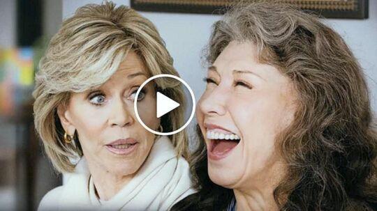 26 afsnit af »Gracie and Frankie« kan streames fra Netflix.