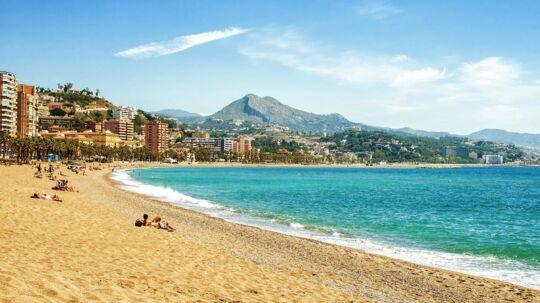 De århusianske rejsende kan nu se frem til at dase på La Malagueta-stranden i Malaga, efter SAS har åbnet en rute i højsæsonen 2017.