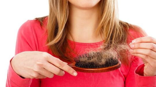 Vi taber mere hår i efteråret, men det er helt naturligt.