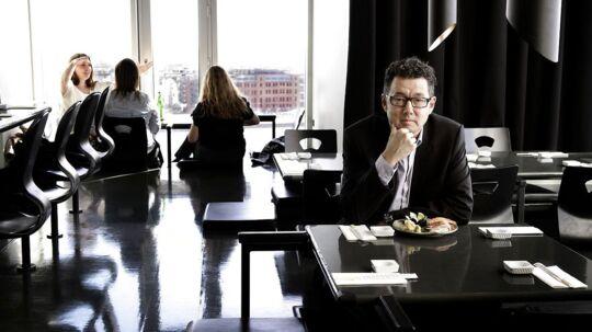 Kim Rahbek Hansen, manden bag virksomheden Sticks'n'sushi.