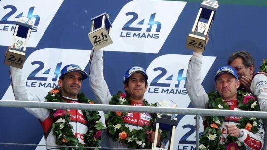 Danske Tom Kristensen vandt senest i 2014 Le Mans med sit tyske Audi-team.