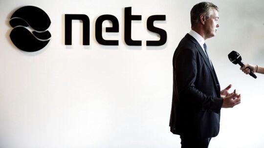 Inden Nets gik på Børsen i september, rådede Danske Bank at vælge en lavere pris. (Arkivfoto: Liselotte Sabroe/Scanpix 2016: Nets skal på Børsen. Pressemøde med Bo Nilsson)