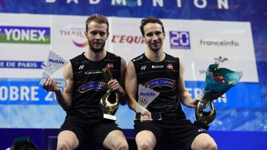 Carsten Mogensen og Mathias Boe vandt Super Series-turneringen French Open.