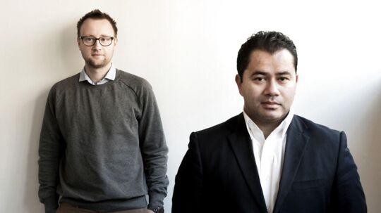 Salgsdirektør Jacob Vesterkær og administrerende direktør Mads Blücher.