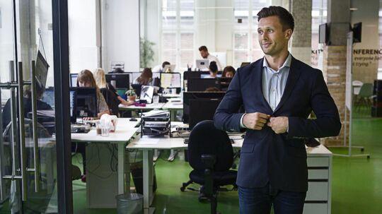 Medstifter af modetøjsportalen Miinto Konrad A. Kierklo i firmaets lokaler på Amager.