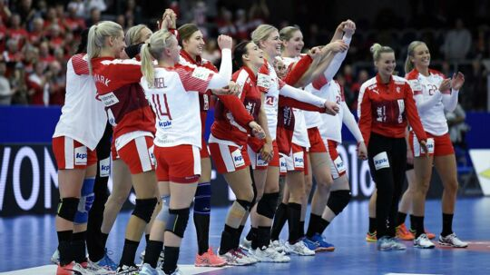 70 procent - så stor vurderes chancen for en dansk semifinaleplads.