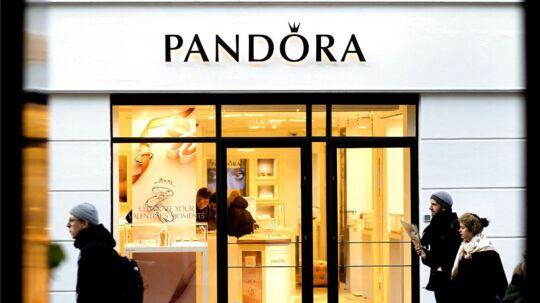 Arkivfoto: Pandora butik.