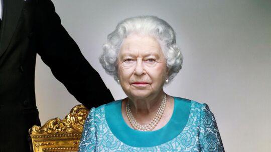 Hvad mon dronning Elizabeth tænker på på dette billede?