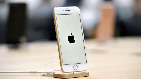 Arkivfoto af en iPhone 7, der formentlig snart allerede kan kaldes en gammel model, selvom den udkom i september 2016.