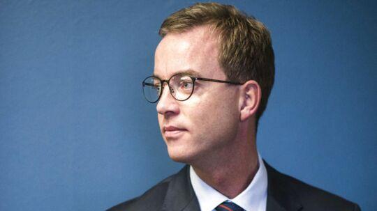 Portræt af miljø- og fødevareminister Esben Lunde Larsen.