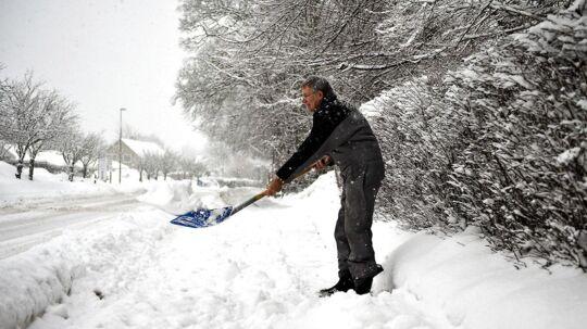 Pak bare sneskovlen væk - der er ikke vinter i sigte, fortæller DMI.
