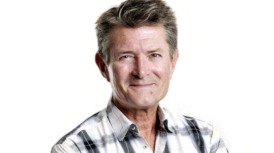 Jens Gaardbo, søndags-klumme-skribent i BT.