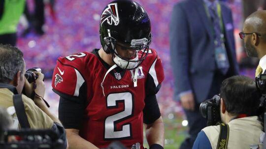 Matt Ryan ønsker, at han havde handlet anderledes på et af de afgørende spil i Super Bowl.