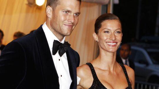 Tom Brady og Giselle Bundchen.