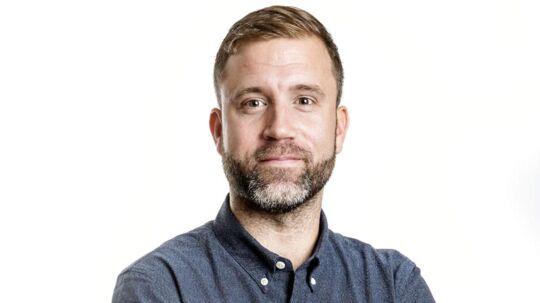 Morten Pelch, søndags-klumme-skribent i BT.