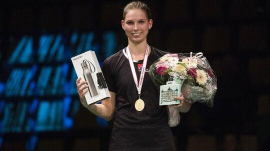 Mette Poulsen vandt for kort tid siden DM-guld, men nu er hun smidt af landsholdet.