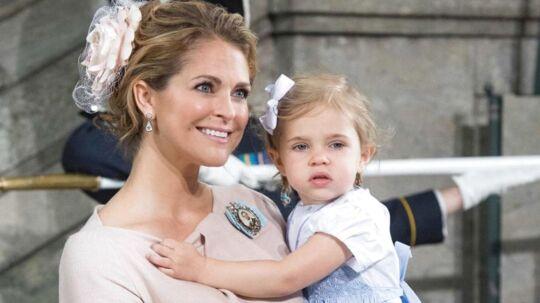 Prinsesse Madeleine prioterer at være en nærværende mor, mens hendes børn er små.