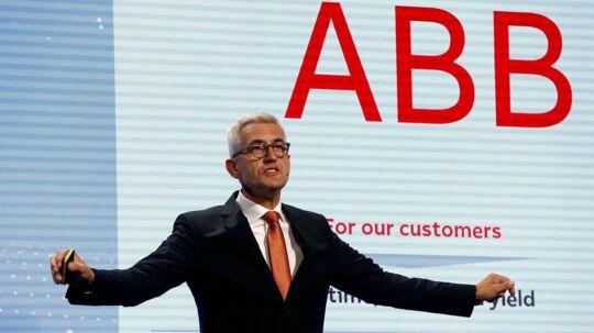 CEO Ulrich Spiesshofer fra ABB a