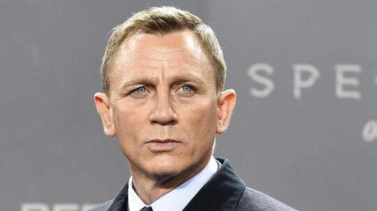 Arkivfoto af den seneste mand til at spille James Bond, Daniel Craig.