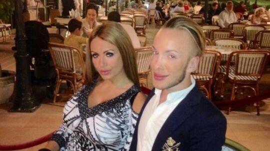 Quentin Dehar og Anastasia Reskoss - også kendt som Ken og Barbie.