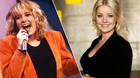 Lonnie Davantier og Simone Egeriis - 25 år med Dansk Melodi Grand Prix