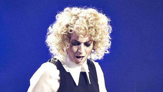 Annette Heick, som hun så ud ved Dansk Melodi Grand Prix i 2016.
