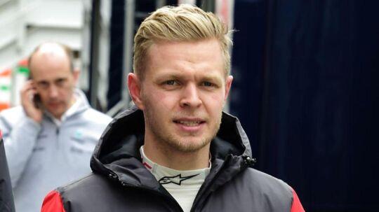 Kevin Magnussen skal ikke køre onsdag og torsdag i Barcelona.