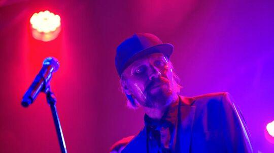 Steen Jørgensen i front for Sort Sol.