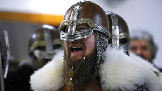 Vikingerne havde en overraskende sund kost. Arkivfoto.