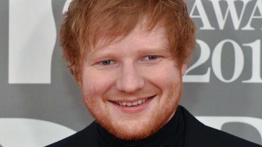 Ed Sheeran. Arkivfoto.