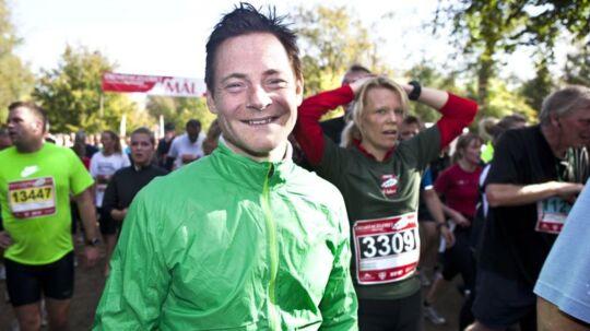 Skuespilleren Paw Henriksen har været Eremitageløber siden 1991 og ser frem til motionsfesten i Dyrehaven søndag 8. oktober.