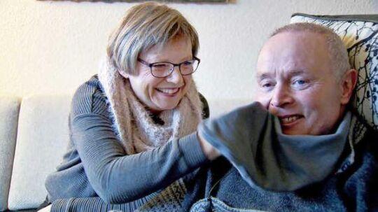 Rita Knudsen og Aage Rasmussen forsøgte altid at få det bedste ud af situationen.