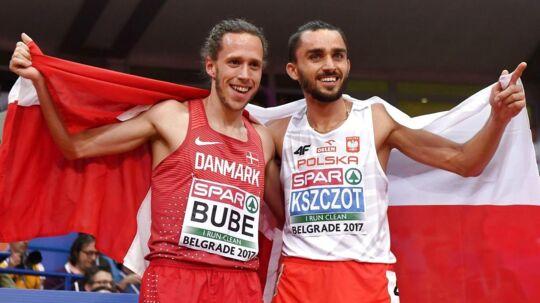 Andreas Bube (tv): »Løbet former sig lige, som jeg kunne ønske mig det.«