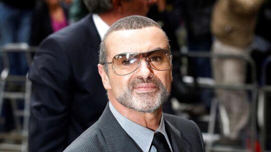 George Michael. Arkivfoto.